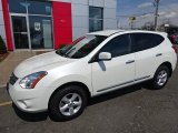 2013 Pearl White Nissan Rogue S #103323592