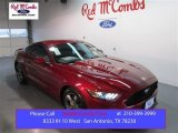 2015 Ruby Red Metallic Ford Mustang V6 Coupe #103323348