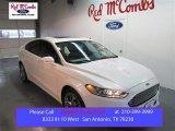 2015 White Platinum Metallic Ford Fusion Titanium #103323347