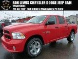 2015 Flame Red Ram 1500 Express Crew Cab 4x4 #103323522