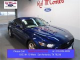 2015 Deep Impact Blue Metallic Ford Mustang V6 Coupe #103323342
