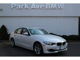 2014 Mineral White Metallic BMW 3 Series 320i xDrive Sedan #103323334