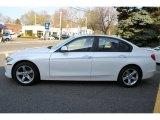 Mineral White Metallic BMW 3 Series in 2014