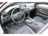 2014 BMW 3 Series 320i xDrive Sedan Black Interior