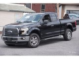 2015 Tuxedo Black Metallic Ford F150 XLT SuperCab 4x4 #103323486