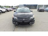 2015 Crystal Black Pearl Honda Civic EX-L Coupe #103361941