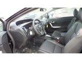 2015 Honda Civic EX-L Coupe Black Interior