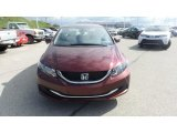 2015 Crimson Pearl Honda Civic EX Sedan #103361940