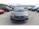 2015 Modern Steel Metallic Honda Civic EX Coupe #103361939