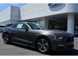 2015 Magnetic Metallic Ford Mustang V6 Coupe #103362002