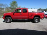 2005 Fire Red GMC Sierra 1500 SLE Extended Cab 4x4 #103362282