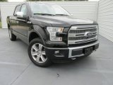 2015 Tuxedo Black Metallic Ford F150 Platinum SuperCrew 4x4 #103362068