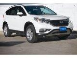 2015 White Diamond Pearl Honda CR-V EX-L #103398443