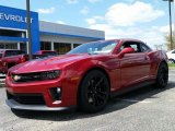 2015 Crystal Red Tintcoat Chevrolet Camaro ZL1 Coupe #103398120