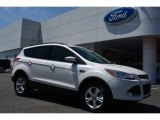 2015 White Platinum Metallic Tri-Coat Ford Escape SE #103398410