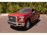 2015 Ruby Red Metallic Ford F150 XLT SuperCrew 4x4 #103460684