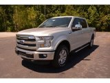 2015 Ingot Silver Metallic Ford F150 Lariat SuperCrew 4x4 #103460678