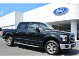 2015 Tuxedo Black Metallic Ford F150 XLT SuperCrew #103460553