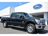 2015 Tuxedo Black Ford F250 Super Duty Lariat Crew Cab 4x4 #103460552