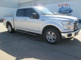 2015 Ingot Silver Metallic Ford F150 XLT SuperCrew #103483647