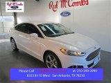 2015 White Platinum Metallic Ford Fusion SE #103483640
