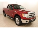 2013 Ruby Red Metallic Ford F150 XLT SuperCab 4x4 #103483974