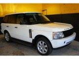 2004 Land Rover Range Rover Chawton White