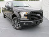 2015 Tuxedo Black Metallic Ford F150 XLT SuperCrew 4x4 #103483906