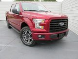 2015 Ruby Red Metallic Ford F150 XLT SuperCrew 4x4 #103483905