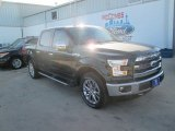 2015 Tuxedo Black Metallic Ford F150 Lariat SuperCrew 4x4 #103518959