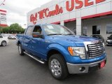 2012 Blue Flame Metallic Ford F150 XLT SuperCrew #103519008