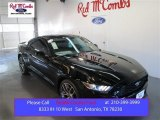 2015 Black Ford Mustang EcoBoost Coupe #103518954