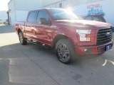 2015 Ruby Red Metallic Ford F150 XLT SuperCrew 4x4 #103551667