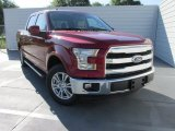 2015 Ruby Red Metallic Ford F150 Lariat SuperCrew #103551821