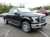 2015 Tuxedo Black Metallic Ford F150 XLT SuperCab 4x4 #103551721