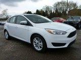 2015 Oxford White Ford Focus SE Hatchback #103551718