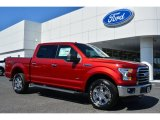 2015 Ruby Red Metallic Ford F150 XLT SuperCrew 4x4 #103551784