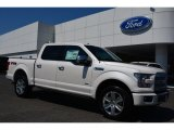 2015 White Platinum Tricoat Ford F150 Platinum SuperCrew 4x4 #103551783