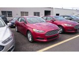 2015 Ruby Red Metallic Ford Fusion SE #103586938