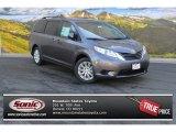 2015 Predawn Gray Mica Toyota Sienna LE AWD #103586734