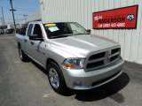 2012 Bright Silver Metallic Dodge Ram 1500 ST Quad Cab 4x4 #103587189