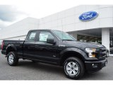 2015 Tuxedo Black Metallic Ford F150 XL SuperCab 4x4 #103586908