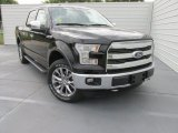 2015 Tuxedo Black Metallic Ford F150 Lariat SuperCrew 4x4 #103586977