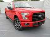 2015 Race Red Ford F150 XLT SuperCrew 4x4 #103586976