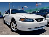 2001 Oxford White Ford Mustang V6 Convertible #103586700