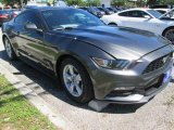 2015 Magnetic Metallic Ford Mustang V6 Coupe #103586838
