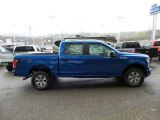 2015 Blue Flame Metallic Ford F150 XLT SuperCrew 4x4 #103586877