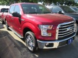 2015 Ruby Red Metallic Ford F150 XLT SuperCrew #103623523