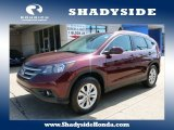 2012 Basque Red Pearl II Honda CR-V EX-L 4WD #103623570