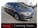 2013 Sterling Gray Metallic Ford Fusion Hybrid Titanium #103623736